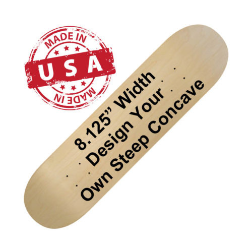 "8.125"" Steep Concave"